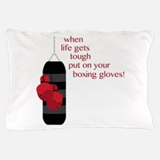 When life gets tough put on your boxing gloves! Pi