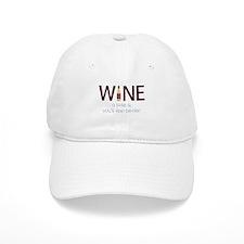 Wine a Little Baseball Baseball Cap