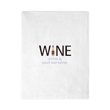 Wine a Little Twin Duvet