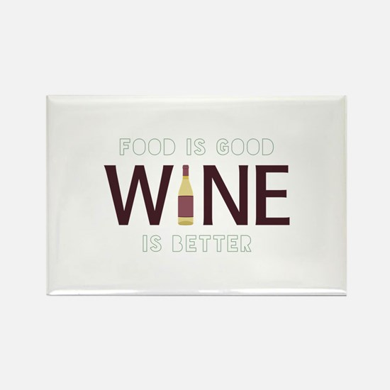 Wine is Better Magnets