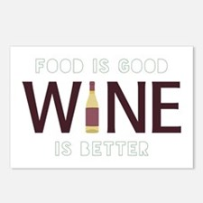 Wine is Better Postcards (Package of 8)
