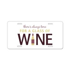 Always Time Aluminum License Plate