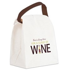 Always Time Canvas Lunch Bag
