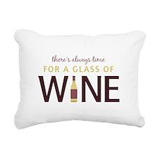 Always Time Rectangular Canvas Pillow