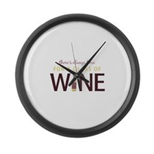 Always Time Large Wall Clock
