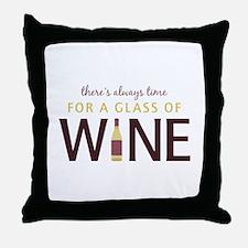Always Time Throw Pillow