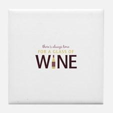 Always Time Tile Coaster