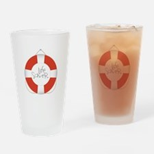 Life Saver Drinking Glass