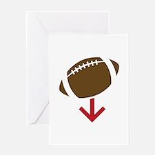 Football Greeting Cards