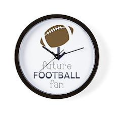 Future Football Wall Clock