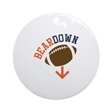 Beardown Ornament (Round)
