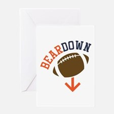 Beardown Greeting Cards