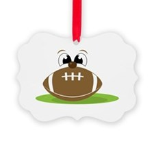 Funny Football Ornament