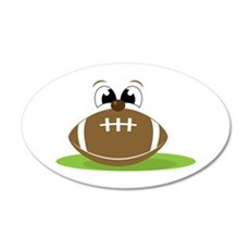 Funny Football Wall Decal