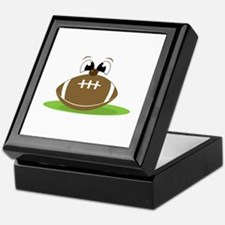 Funny Football Keepsake Box