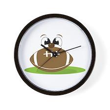 Funny Football Wall Clock