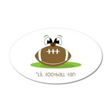 Lil Football Fan Wall Decal