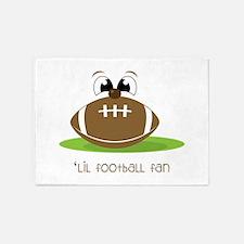 Lil Football Fan 5'x7'Area Rug