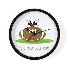 Lil Football Fan Wall Clock