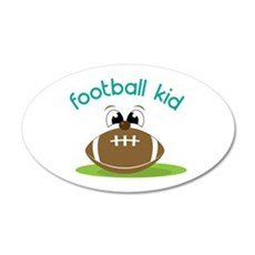 Football Kid Wall Decal