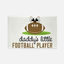 Daddy's Little Football Player Magnets