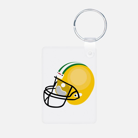 Football Helmet Keychains