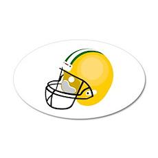 Football Helmet Wall Decal