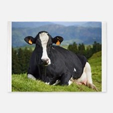 Holstein cow 5'x7'Area Rug