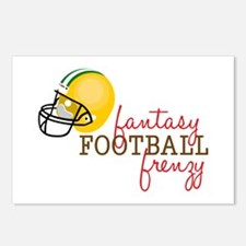Fantasy Football Frenzy Postcards (Package of 8)