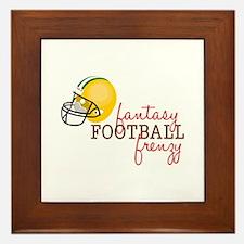 Fantasy Football Frenzy Framed Tile