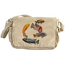 Cichlids Messenger Bag