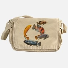 Cichlids Messenger Bag