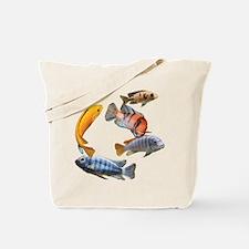 Cichlids Tote Bag