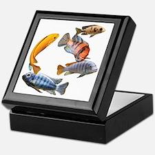Cichlids Keepsake Box