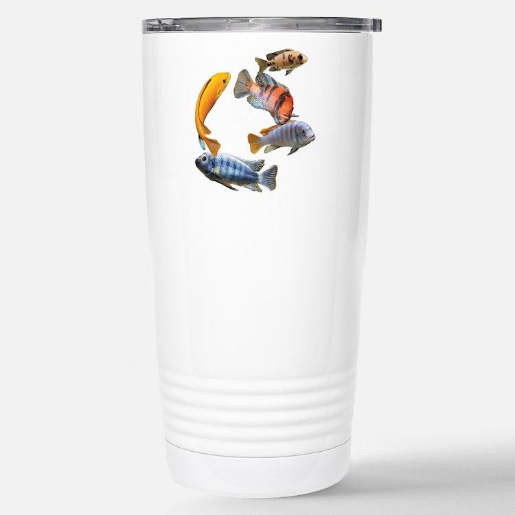 Cichlids Travel Mug