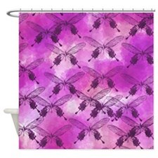 Cute Original butterfly Shower Curtain