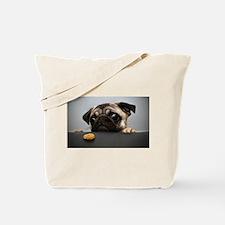 Cool Pug Tote Bag