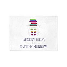 Naked Tomorrow 5'x7'Area Rug