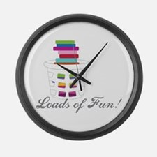 Loads of Fun Large Wall Clock