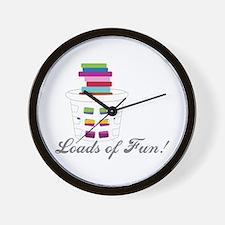 Loads of Fun Wall Clock