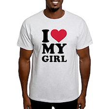 I love heart my girl T-Shirt