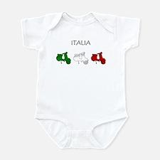 Italian Scooter Infant Bodysuit