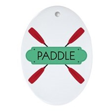 PADDLE Ornament (Oval)