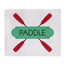 PADDLE Throw Blanket