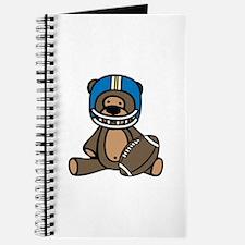 Teddy Bear Football Journal