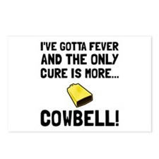 Gotta Fever More Cowbell Postcards (Package of 8)