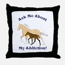 TWH Addiction Throw Pillow