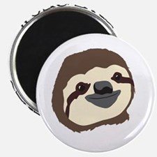 Sloth Motto - Live Slow Die Whenever Magnets