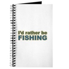 I'd Rather be Fishing Fish Journal