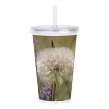 Dandelion Ball Acrylic Double-wall Tumbler